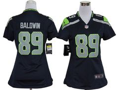 Women's NFL Seattle Seahawks Doug Baldwin Game Team Color Jersey  $19.55