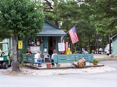 Kettle Campground Cabins RV Park At Eureka Springs Arkansas Stayed There When