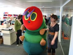 The Very Hungry Caterpillar at 80 Strand