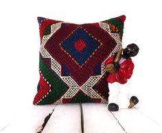 Kilim Pillow Cover Tribal home decor Kilim Cushion CoverThrow Pillow