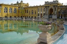 Szechenyi Bath and Spa in Budapest. I have been here and it is amazing!