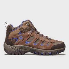 Brown MERRELL Women's Ridgepass Mid Waterproof Shoes