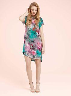 08fe6012083fe Digital Print Dress - Going Out Dresses - Dress Shop - Miss Selfridge