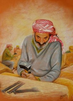 pakestine / Emad Abu shtayeh Palestine, Embroidery, Artist, Painting, Needlepoint, Artists, Painting Art, Paintings, Painted Canvas