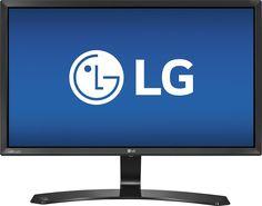 "LG - 24MP58VQ 24"" IPS LED HD Monitor - Black"