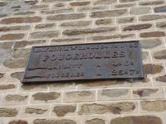 Love the typography on this old sign, Fougerolles du plessis