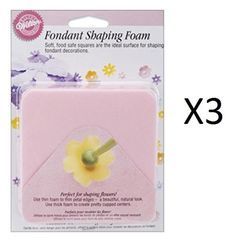 Bulk Buy Wilton Fondant Shaping Foam 2Pkg W9079704 3Pack *** You can get additional details at the affiliate link Amazon.com.