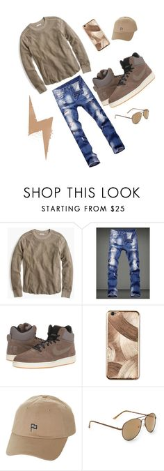 """TANBAN 😆🔨"" by kingdiorx1 ❤ liked on Polyvore featuring J.Crew, NIKE, La Mela, Herschel Supply Co., Aéropostale, men's fashion and menswear"