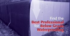 Below grade waterproofing is a critical aspect of any commercial building. Trust Your Instincts, Thing 1, Best Positions, Roofing Contractors, Miami, Commercial, Advice, Good Things, Building