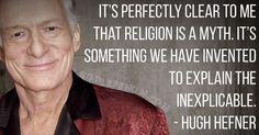 Rest In Peace you old heathen. #riphughhefner #hughhefner