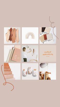 Fall Mood Board designed by Amari Creative moodboard fall autumn mood Instagram Design, Moda Instagram, Instagram Layouts, Design Typography, Branding Design, Corporate Design, Lettering, Tableaux D'inspiration, Feeds Instagram