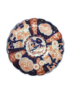 Japanese Imari Porcelain Charger on Chairish.com