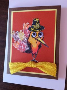 Turkey Crazy Bird by Carolinakathy - Cards and Paper Crafts at Splitcoaststampers