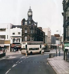Old Doncaster Image Library South Yorkshire Transport, Places Ive Been, Castle, England, Street View, History, Corner, Clock, Image