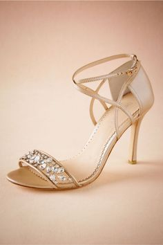 BHLDN Pandora Heels  in  Shoes & Accessories Shoes at BHLDN