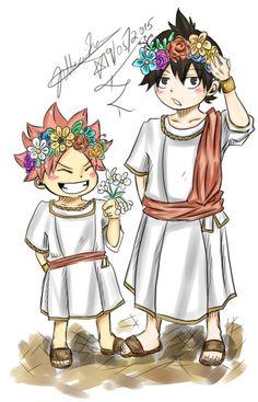 Natsu e Zeref