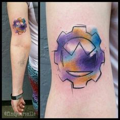 Crown The Empire Cog and Crown tattoo