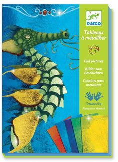 Djeco Foil Pictures  £9.99  A lovely, creative, arty gift for children aged around 7-12 years