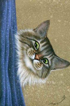 Artiste Peintre Animalier - Spécialiste des Peintures et Portraits Félins