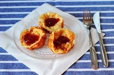 ✔ Ellan reseptit: Maailman helpoimmat pannarimuffinssit! Helppo ja nopea tehdä aamupalaksi.