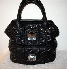 Karl Lagerfeld  frame bag  doctors bag tote buttery by BagsBabylon