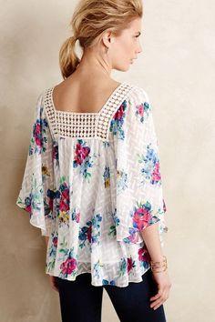 Treillage Kimono Blouse - anthropologie.com #anthrofave