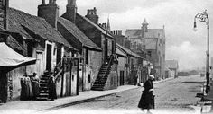Old Photograph Blairingone Village Scotland