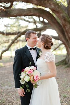 adore her gown + hair | Magnolia Pair #wedding