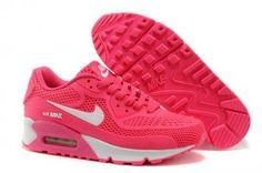 Nike Air Max 90 KTPU Correr rosa / blanco http://www.esnikerun.com/