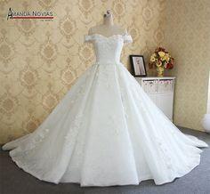 2017 Amanda Novias Real Photos High Quality Brand Wedding Dresses Bridal Dress  FREE Shipping Worldwide  Get It here ---> https://thewomandress.com/2017-amanda-novias-real-photos-high-quality-brand-wedding-dresses-bridal-dress/