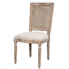 The Vienna Chair w/ cane back - Antique Linen & Oak from LH Imports is a unique home decor item. LH Imports Site carries a variety of Seating items.