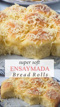 4 Points About Vintage And Standard Elizabethan Cooking Recipes! These Super Soft Ensaymada Bread Rolls Are The Best Its Light, Fluffy, Butter-Rich And Exceptionally Delicious. This Is The Best And Easiest Homemade Ensaymada Recipe Youll Ever Make Filipino Bread Recipe, Best Bread Recipe, Bread Recipes, Filipino Food, Filipino Desserts, Fluffy Bread Recipe, Easy Filipino Recipes, Haitian Recipes, Donut Recipes