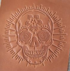 We can make you a custom Leather Embossing Die with any text, font, graphic or logo that can be used with a press. These are low-cost hard