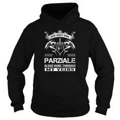 PARZIALE Blood Runs Through My Veins (Faith, Loyalty, Honor) - PARZIALE Last Name, Surname T-Shirt