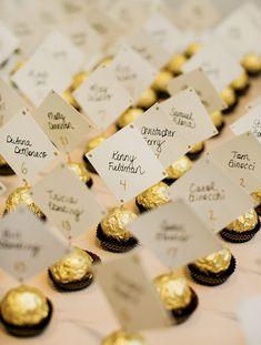 10 Wedding Escort Card Ideas for the Trendy Couple Wedding Seating Cards, Wedding Name Cards, Card Table Wedding, Card Holder Wedding, Wedding Escort Card Ideas, Wedding Ideas, Wedding Themes, Wedding Decorations, Marie's Wedding