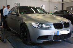 M3 sedan gray matte