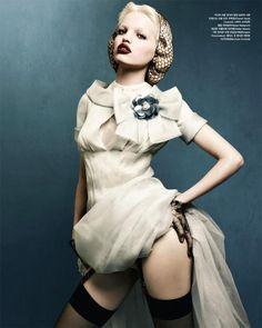 Daphne Groeneveld in Vogue Korea April 2012 by Rafael Stahelin #ElizabethRinne