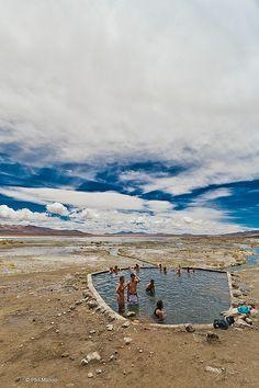 Termas de Polques - altiplano of Bolivia |