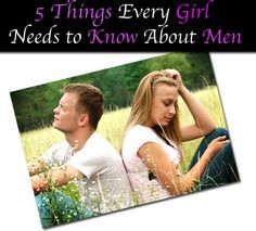 An article describing five universal truths about men that any woman hoping for a successful relationship needs to know.