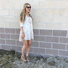 Dressed like a daydream ☀️|| dress($50). Wedges($40). Sunnies($15). #frankieandjules #fnjstyle #shopfnj #dressedlikeadaydream #bohostyle #bohoblogger #bloggerbabe #easterbest #easter #whatimwearing #whatimwearingtoday #ootd #floral #instadaily #instastyle #instafashion #outfitinspiration #outfitinspo #tgif #outfitoftheday #blondie #liketoknowit #streetstyle #thisisstreetstyle #booties #weekend #boho #hippie #model