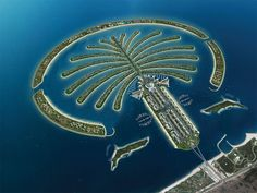 Palm Island Dubai UAE - WHEN DANNY AND I TOURED DUBAI 40 YEARS AGO, IT CERTAINLY DID NOT LOOK LIKE THIS. WOULD LIKE TO VISIT IT NOW.