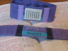 Bible verse bracelets! Jennifer, an etsy shop crafter, makes Keeplets - bracelets that allow you to wear and swap out scripture cards so that you can memorize God's word. Each Bracelet comes with a pack of verse cards with 24 bible verses about Love and 24 bible verses about Faith. Great work, Jennifer!