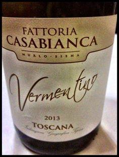 El Alma del Vino.: Fattoria Casabianca Vermentino 2013.