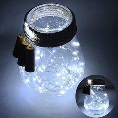 Glass Wine Bottle String Lights Champagne Cork LED Light For Chrismas Festival Party Decor