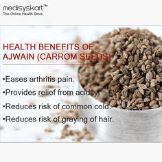 #Medisys #FitTips for #CarromSeeds, Very common ingredient knows an #ajwain