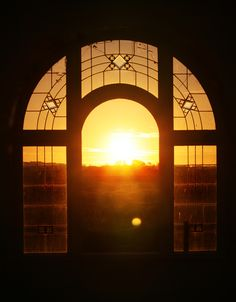 Sunset view through the Bell Tower window. George Washington Bridge, A Boutique, Perfect Place, Wedding Venues, Tower, Window, Rustic, Sunset, Country