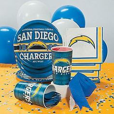 NFL® San Diego Chargers™ Party Supplies-OrientalTrading