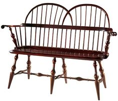 Windsor Twin Bow Love Seat with Vase Legs