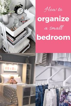 A bedroom should be a place to relax, but it can be difficult when it's cluttered Organizing Ideas, Organization Hacks, Diy Cleaning Products, Cleaning Hacks, Maximize Space, Family Organizer, Money Matters, Diy On A Budget, Decluttering