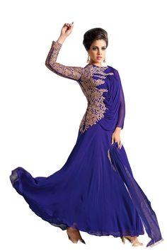 Stunning Stylish Party Wear Anarkali Suit